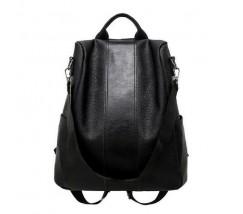 Жіночий м'який рюкзак чорний