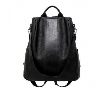Женский мягкий рюкзак черный
