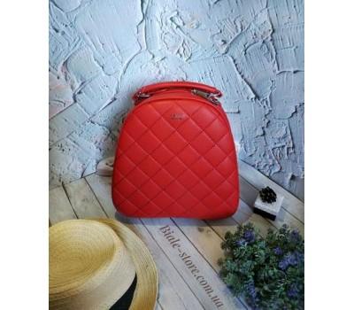 Женский качественный рюкзак красный