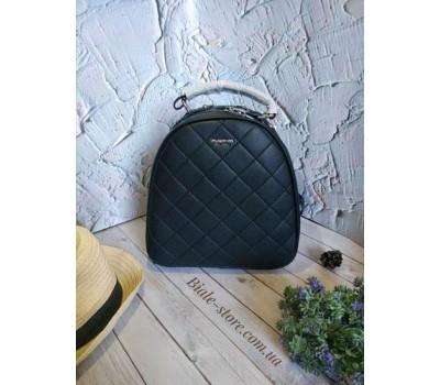 Женский качественный рюкзак черный