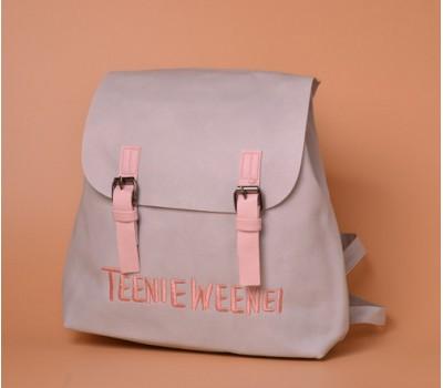 Модный женский рюкзак серый