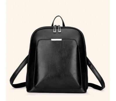 Классический рюкзак женский черный