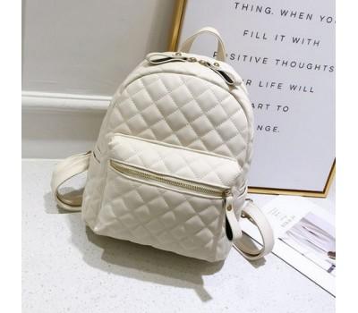 Небольшой женский рюкзак белый