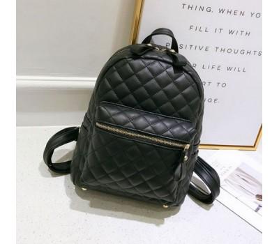 Небольшой женский рюкзак черный