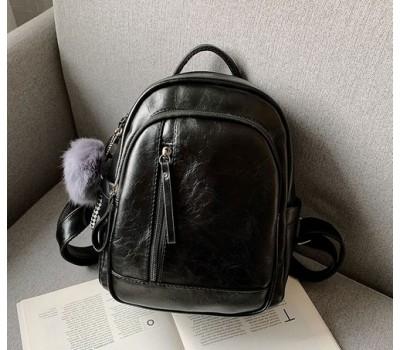 Качественный женский рюкзак черный