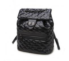 Большая сумка-рюкзак черная