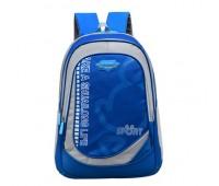 Великий шкільний рюкзак блакитний