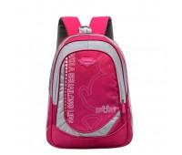 Великий шкільний рюкзак малиновий