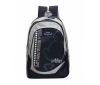 Великий шкільний рюкзак чорний