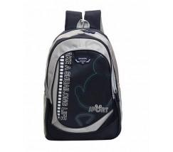Большой школьный рюкзак черный