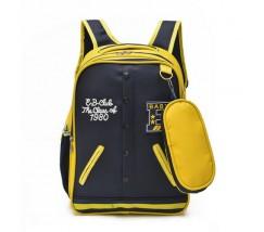 Рюкзак в виде кофты желтый