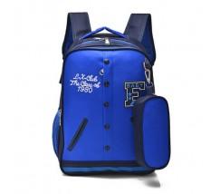 Рюкзак в виде кофты синий