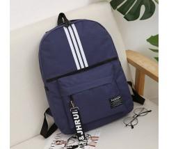 Спортивный тканевый рюкзак синий