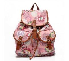 Рюкзак женский городской Хиппи розовый