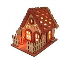 Соляний світильник Будиночок 2