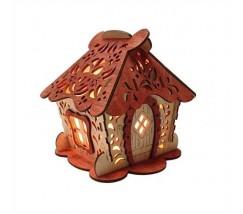 Соляний світильник Будиночок 4