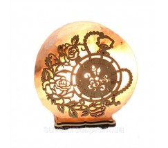 "Соляний світильник круглий ""Годинник"""