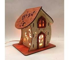 Соляний світильник Будиночок 5