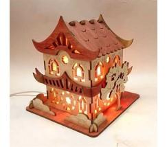 Соляний світильник Будиночок 6