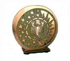 """Соляной светильник знак зодиака """"Скорпион"""""""
