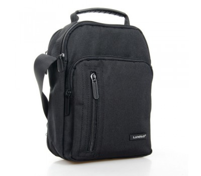 Нейлоновая сумка мужская черная