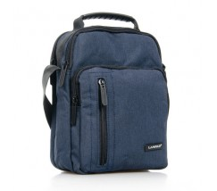 Нейлоновая сумка мужская синяя