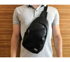 Мужская сумка месенджер еко кожа