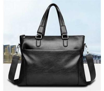 Мужская сумка для бумаг чорная