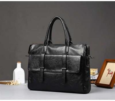 Вместительный мужской портфель сумка