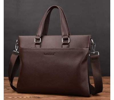 Мужская сумка для документов коричневая