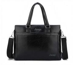 Мужская сумка портфель деловой черный