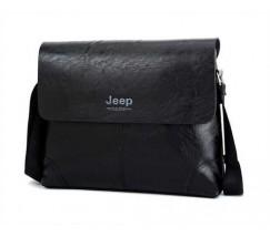 Качественная мужская сумка черная