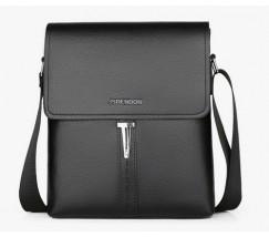 Модная мужская сумка черная