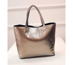 Женская сумка с ручками вместительная золото