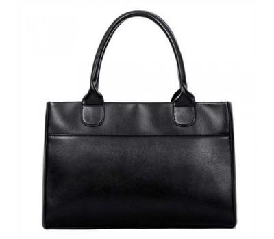 Женская сумка классическая вместительная черная