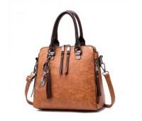 Модна жіноча сумка коричнева