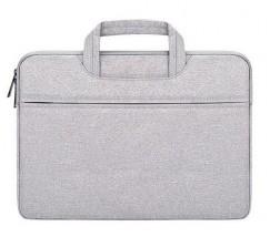 Зручна сумка для ноутбука cіра