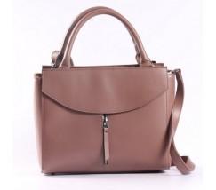 Стильная большая женская сумка розовая