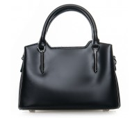 Элегантная женская сумка с кожи черная