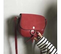 Женская маленькая сумочка красная