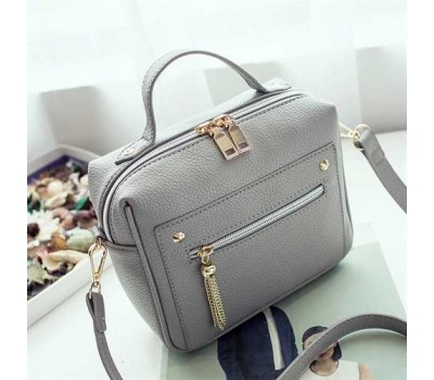 Жіноча компактна сумочка сіра