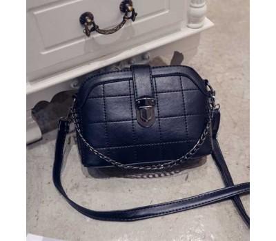 Модная женская сумочка клатч черная