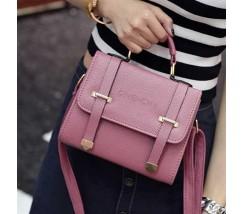 """Женская сумка """"Givеnchy"""" темно-розовая"""