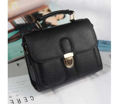 Женская мини сумочка классика черная