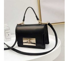 Елегантна жіноча сумка клатч чорна