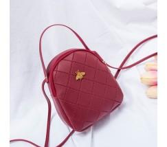 Маленька сумочка-рюкзак червона