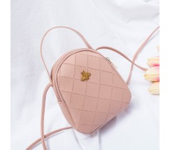 Маленькая сумочка-рюкзак розовая