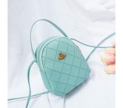 Маленькая сумочка-рюкзак мятная
