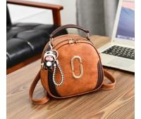 Жіноча сумка-рюкзак коричнева