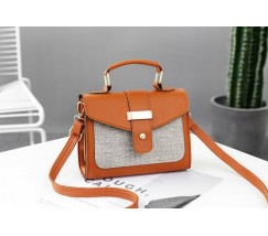 Елегантна жіноча сумка коричнева